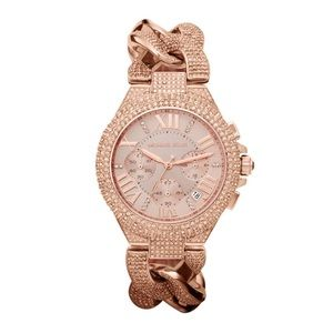 {Michael Kors}MK3196 Camille RoseGold Plated Watch